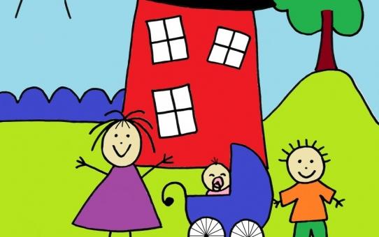 Forsigtig åbning af Børnehuset